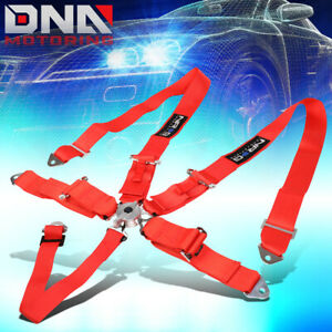 Nrg Innovations Sbh r6pcrd 5 point Cam Lock Buckle 3 Racing Seat Belt Harness