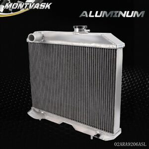 3 Row For 1941 1952 Jeep Willys Mb Cj 2a M38 Ford Gpw Aluminum Racing Radiator