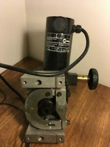2 Miller Welder 300938 Rad 400 Right Angle Subarc Wire Drive Feeder Me160478v