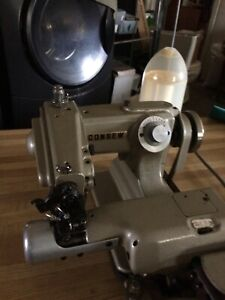 Consew Sewing Machine Blind Stitch With Table