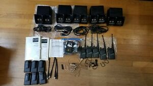 Motorola Visar 5 Two way Radio Lot H05sdd9aa4dn
