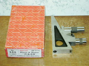 Starrett Planer Shaper Gage No 246 W Box