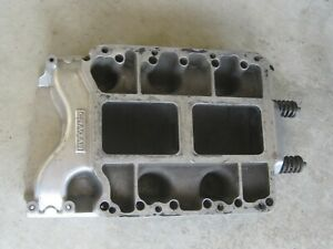 Cragar 671 Chrysler 426 Hemi Supercharger Blower Intake Manifold Polished