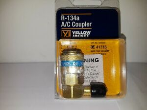 Yellow Jacket R 134a A c Coupler