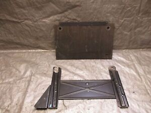 Porsche 944 968 Engine Computer Module Ecu Floor Board Wood Cover