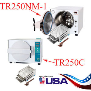 18 L Autoclave Steam Medical Sterilizer Clean Dental System Auto drying Function