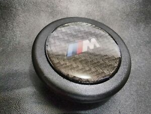 Carbon Fiber Horn Button Momo Sparco Steering Wheel Compatible With Bmw M E30