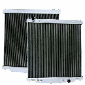 2 Row Aluminum Radiator For 03 07 Ford 6 0 F250 F350 Truck Powerstroke Equipped