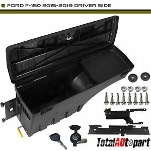 Truck Bed Storage Box Toolbox Rear Left For Ford F 150 2015 2019 Pickup Sc203d