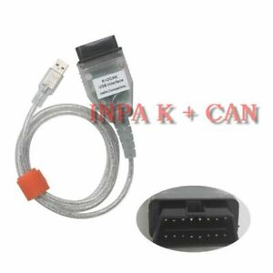 Inpa Ediabas K D Can Dcan Usb Interface Obd2 Eobd Diagnostic Tool Cable For Bmw
