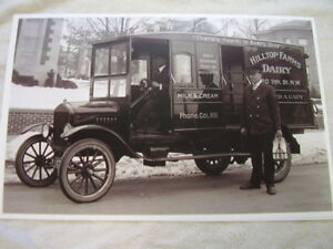 1921 Ford Model T Truck 11 X 17 Photo Picture