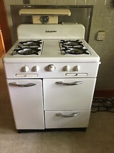 Vintage Enterprise Gas Stove