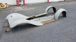 Original 1930 Ford Model A Coupe Roadster Fenders Running Boards Splash Apron