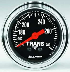 Auto Meter 2 1 16in Trans Temp Gauge P N 2451