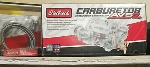 New Series Avs Edelbrock 1905 Manuel Choke W Cable Performance 650cfm Carb