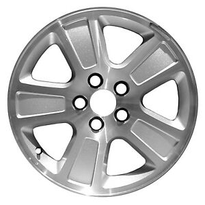99170 Refinished Wheel Alloy 2003 2011 Ford Crown Victoria Machined And Silver