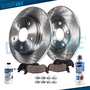Rear Brake Rotors Ceramic Pad Buick Encore Chevrolet Cruze Limited Sonic Trax