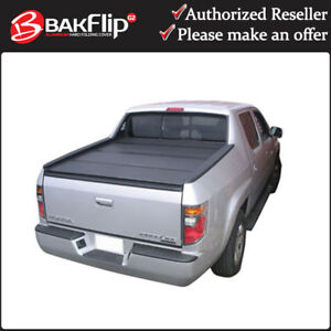 Bakflip G2 Hard Folding Tonneau Cover For 17 19 Honda Ridgeline 5 4 Short Bed