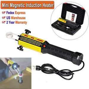 Mini Magnetic Induction Heater For Automotive Bolt nut Flameless Heat Remove