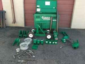 Greenlee 6805 6800 Ultra Cable Wire Puller Tugger 8000lb Good Condition