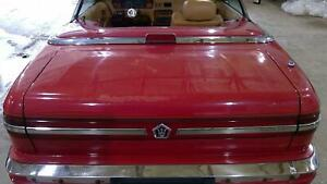 89 91 Maserati Tc Trunk Decklid Assembly With Light Exotic Red Fr2