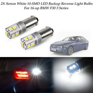 2pcs Can bus White Led Backup Reverse Lights Bulbs For 2016 up Bmw F30 3 Series