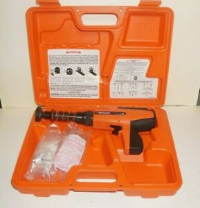 Ramset Redhead D45a Semi automatic Powder Actuated Tool W case