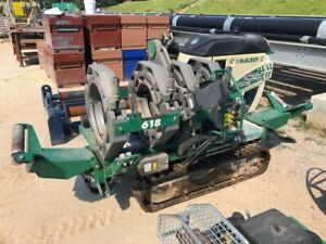 Mcelroy Tracstar 618 Series 2 Pipe Fusion Machine