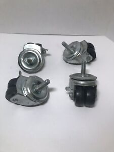 Albion 2 Dual Wheel Swivel Casters Set Of 4 New Without Box 200lb Rating