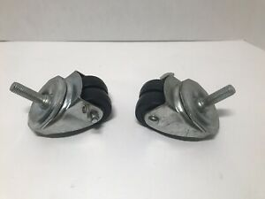 Albion 2 Dual Wheel Swivel Casters Set Of 2 New Without Box 200lb Rating