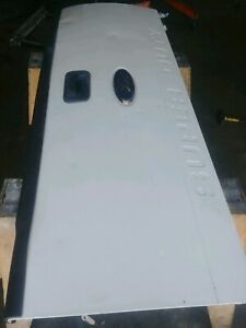 08 16 Ford Super Duty Tailgate Oem White Pickup Truck Used