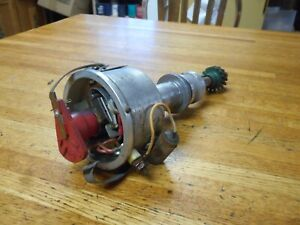 Ford 351c 429 460 Mallory Dual Point Mechanical Advance Distributor Very Nice