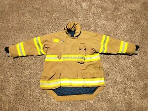 Morning Pride Firefighter Turnout Jacket Size 50 2005 Model Bpr25i2tg