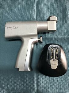 Used Stryker System 5 4108 4115 Sagittal Saw Handpiece With Battery