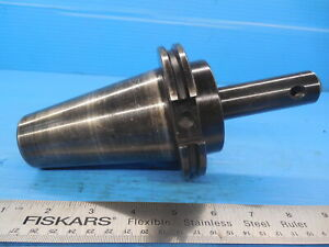Parlec Cat50 3 8 Dia C50 37em4 Solid End Mill Tool Holder 375 Cnc Shop Tooling