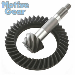 Motive Gear D44 456 Ring And Pinion 4 56 Ndash Std Cut Dana 44