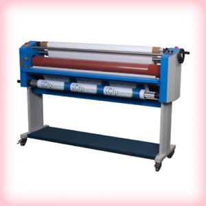 New Gfp 355th 55 Top Heat Wide Format Roll Laminator 7751