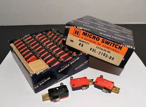 Honeywell Micro Switch Box Of 40 V3l 2103 d8 New old Stock Nos
