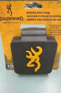 Browning Receiver Hitch Cover 2 5 Cm Durable Rubber Construction New