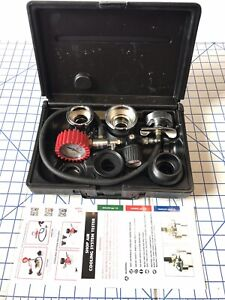 Mac Tools Cst300 Large Truck Cooling System Pressure Tester W Extra Adapter