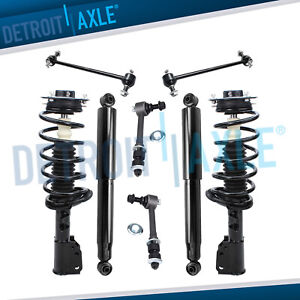Chevy Equinox Gmc Terrain Pontiac Torrent 8pc Front Strut Rear Shock Suspension