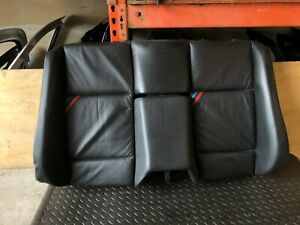Bmw E36 M3 S52 Oem Convertible Rear Back Interior Leather Backrest Chair Seat