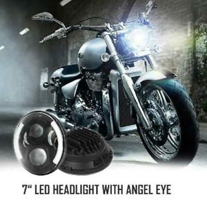Dot 1pc 7 Motorcycle Headlight Cree Led Turn Signal Light For Harley Cafe Racer