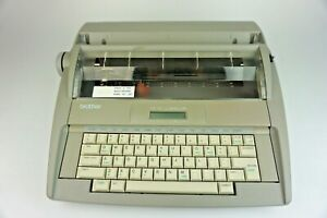 Brother Sx 4000 Electronic Lcd Display Typewriter With Dictionary Tested