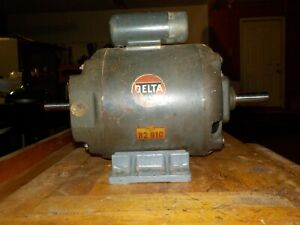 Vintage Delta Milwaukee Dual Shaft 3 4 Hp Electric Motor 82 910