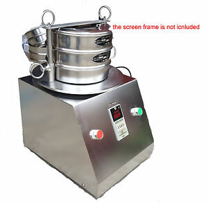 Electric Vibrating Sieve Machine Lab Shaker For Granule grain 220v