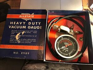 Vintage Original Auto Parts Accessory Engine Tester Part
