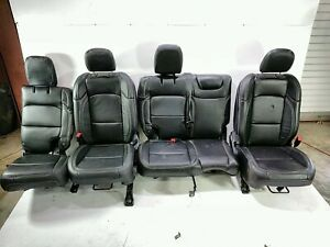 18 Jeep Wrangler Unlimited Jl Front Rear Left Right Seat Set Katzkin Leather