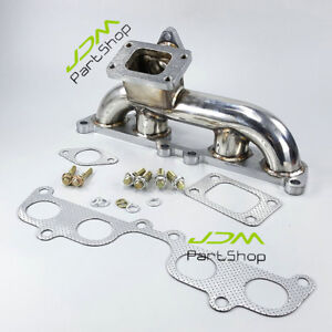 Turbo Manifold Header T3 Flange For Toyota Tacoma Hilux 4 runner 2rz fe 1995 01