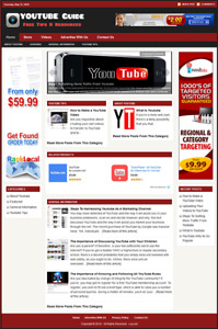 Youtube Guide Professionally Designed Affiliate Website Free Installation